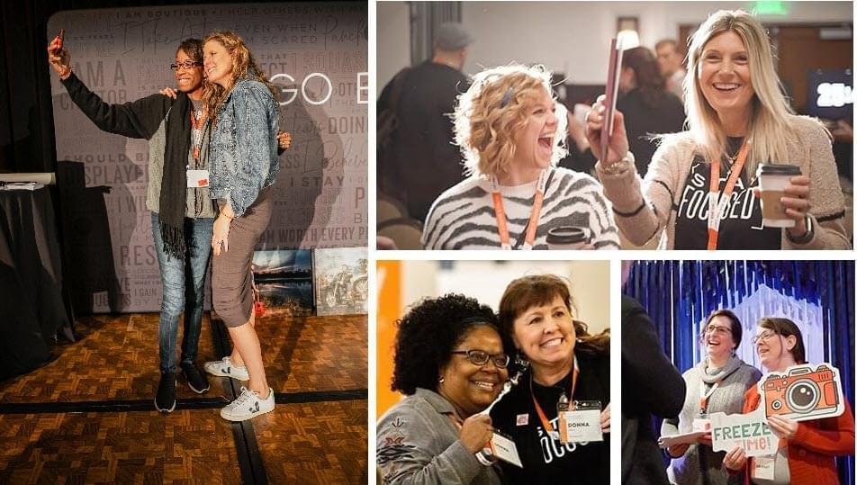 Go Boutique Live Event for boutique photographers, conference and workshop